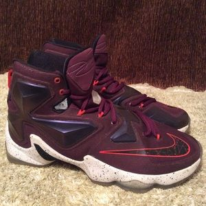 Lebron James Xlll Written In All Stars Sz 9.5